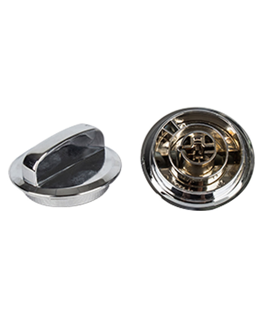 Timer Knob A Silver